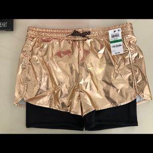 Big Girls Rose Gold short size 14(L)